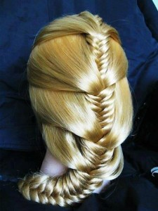 tresse blonde