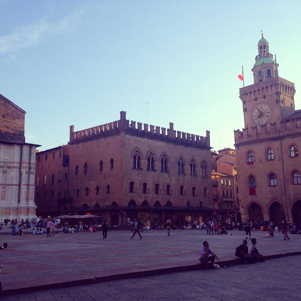 La Piazza Maggiore