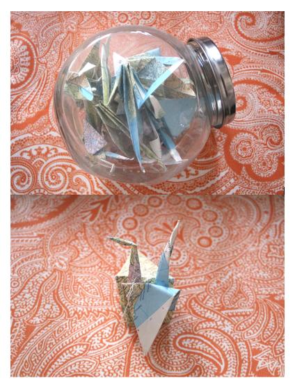 Pot origami