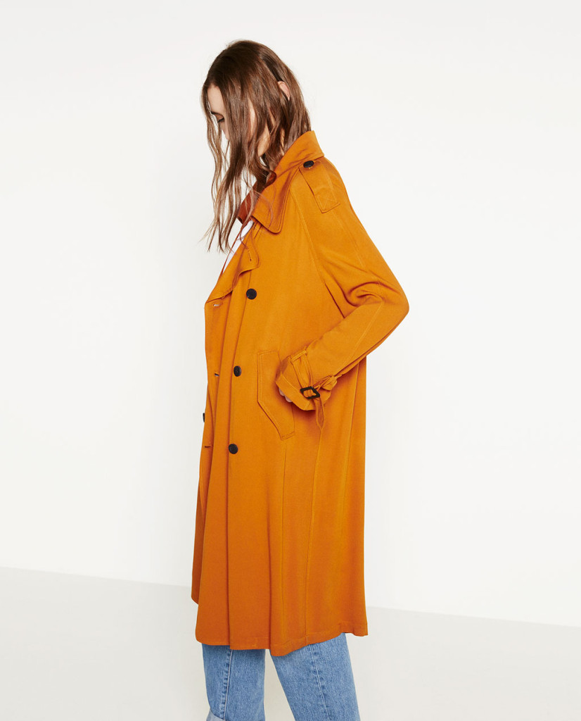 trench coat_ocre