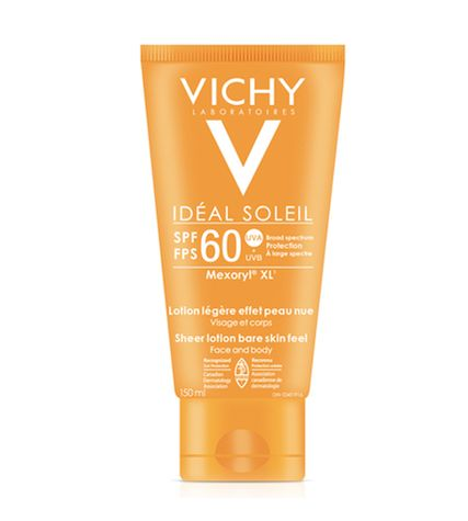 Vichy Idéal Soleil lotion effet peau nue – 29,95$